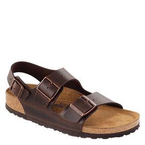 Birkenstock   Milano Leather Slingback Sandal